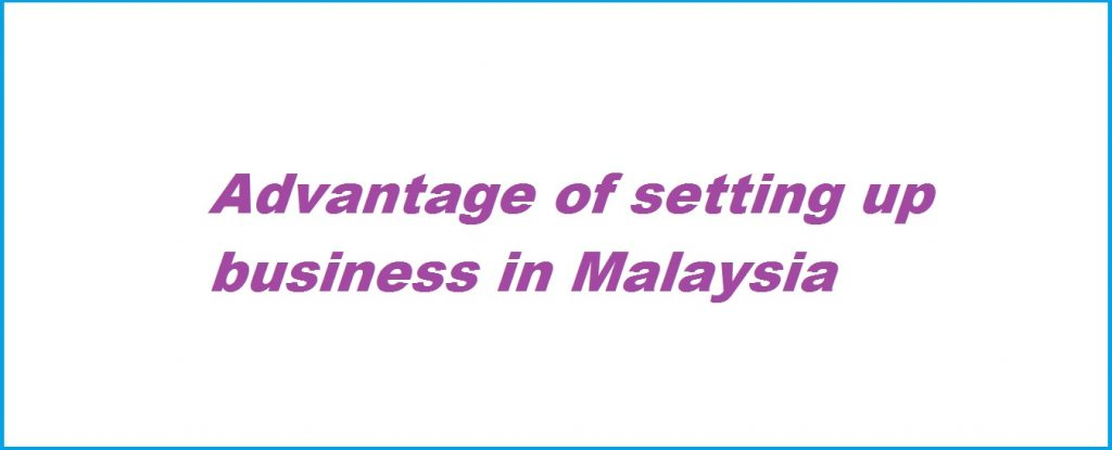 Advantage of Setting up Business in Malaysia