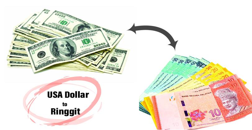 US Dollars to Malaysia Ringgit