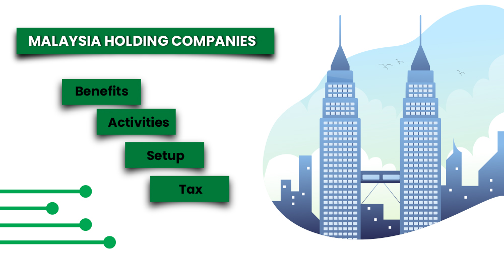 Holding Company in Malaysia - Benefits, Activities, Setup, Tax